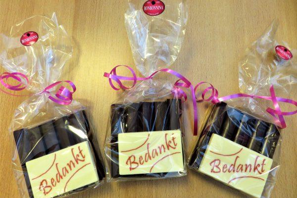 bedankje-van-chocolade
