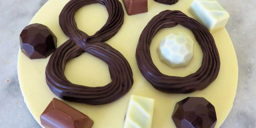 Met chocolade kun je heel veel leuke dingen maken!